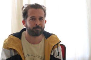 جواد أبو المنى، رئيس تحرير صحيفة سوريتنا، عنب بلدي.