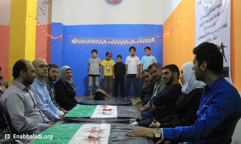 افتتاح مركز لعب للأطفال في مدينة حلب تحت الأرض - 10 أيار (عنب بلدي)