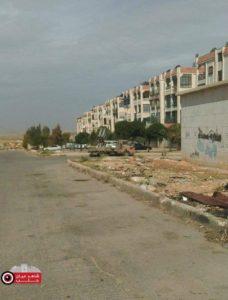 راجمة صواريخ جهنم في حي حلب الجديدة الخاضع لسيطرة النظام السوري - 30 نيسان 2016