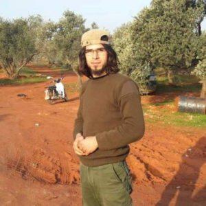 """القائد العسكري لكتيبة """"أحمد عساف"""" التابعة لحركة """"أحرار الشام الإسلامية""""، عبد الغفار حرب"""
