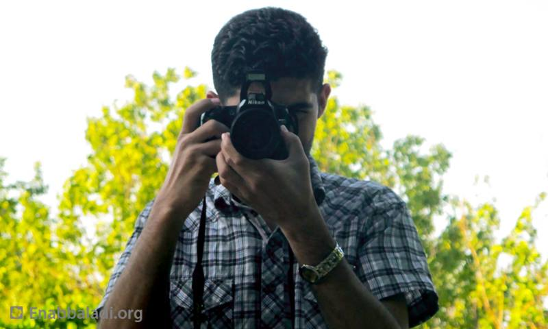 حسام الأحمد، مدير المركز الإعلامي في مدينة داريا (عنب بلدي)