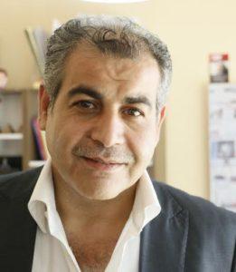 رئيس تحرير صحيفة صدى الشام، عبسي سميسم (عنب بلدي)
