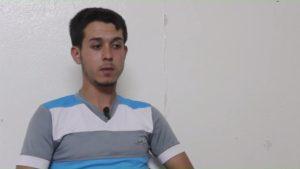 الناشط الإعلامي ومراسل جريدة عين على الوطن في إدلب - حسن مختار - عنب بلدي.