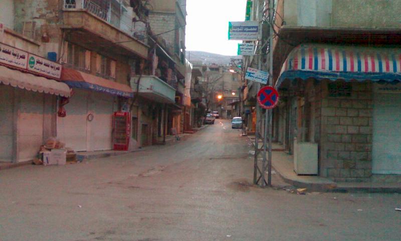 تعبيرية: مدينة الزبداني (أرشيفية من صفحة مدير المشفى الميداني عامر برهان) 2010