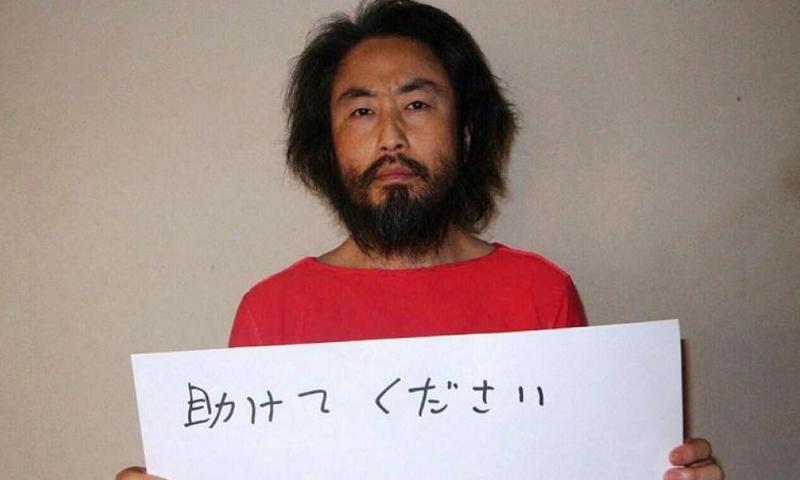 الصحفي الياباني جومبي ياسودا، الاثنين 30 أيار (إنترنت).