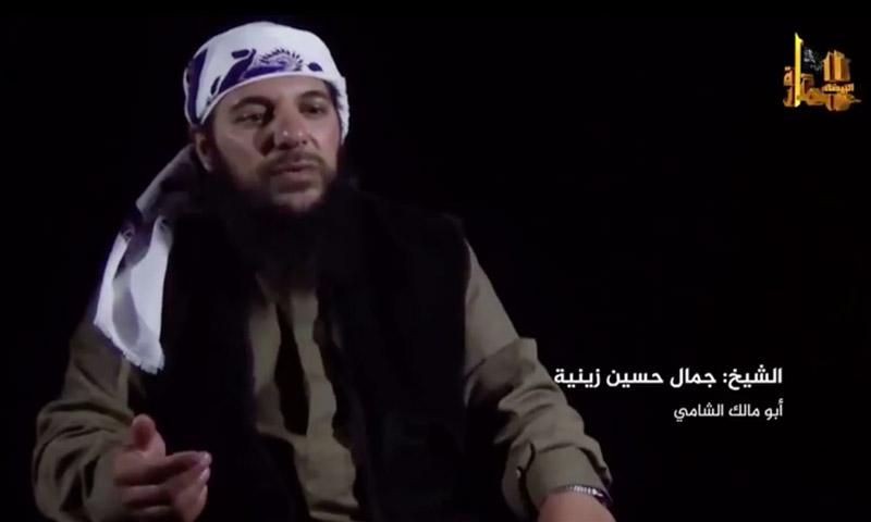 """أمير """"جبهة النصرة"""" في القلمون، جمال حسين زينية (أبو مالك التلي)."""