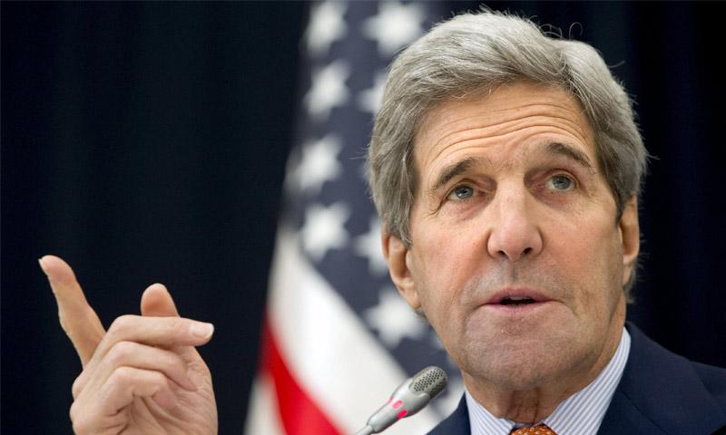 وزير الخارجية الأمريكي، جون كيري