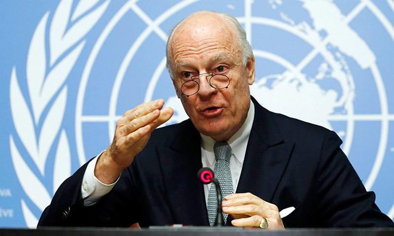 مبعوث الأمم المتحدة إلى سوريا، ستيفان دي ميستورا