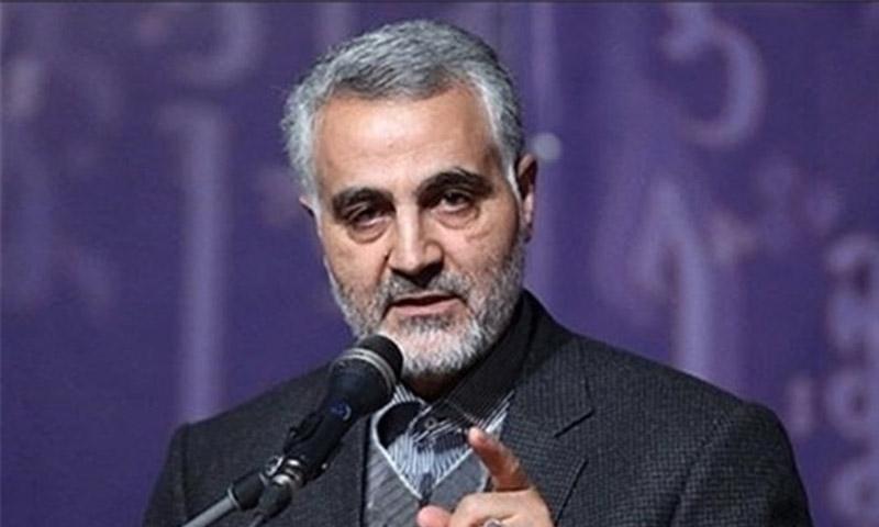 قائد فيلق القدس في الحرس الثوري الإيراني، قاسم سليماني(انترنت)