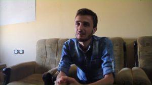 أبو البراء الإدلبي، ناشط في مركز إدلب الإعلامي - عنب بلدي.