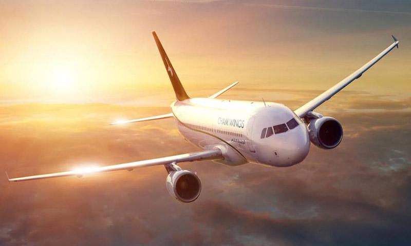 شركة أجنحة الشام للطيران (صفحة الشركة في فيس بوك)