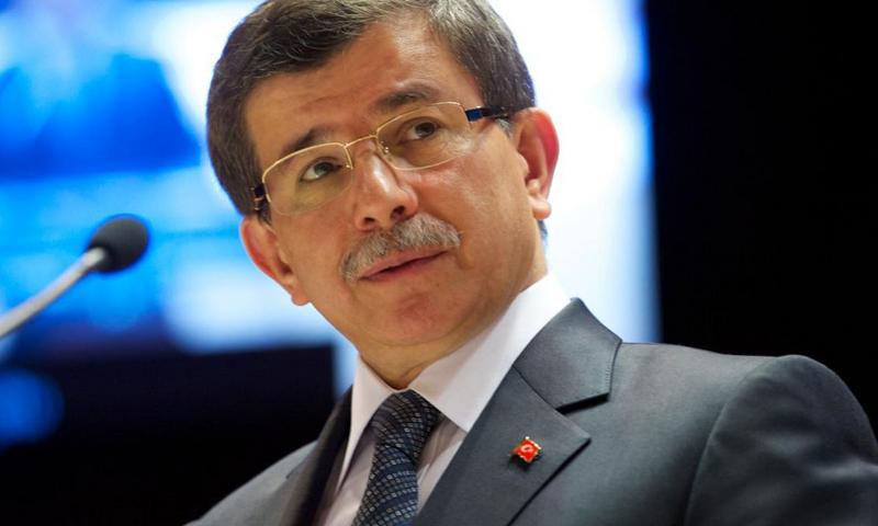 أحمد داود أوغلو، رئيس الوزراء التركي.