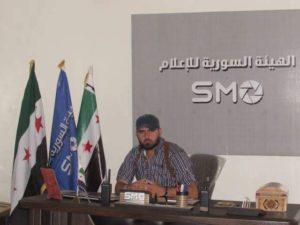أسامة الزعبي، مسؤول الهيئة السورية للإعلام - عنب بلدي.