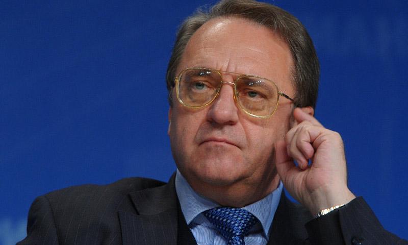 نائب وزير الخارجية الروسي، ميخائيل بوغدانوف(انترنت)