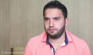 حسن قطان، مدير مركز حلب الإعلامي (عنب بلدي)