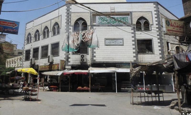 جامع الأقصى في مخيم اليرموك، الجمعة 13 أيار (تنظيم الدولة).