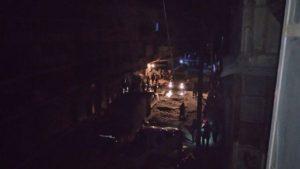 آثار محاولة الاغتيال في حي الشعار بحلب (ناشطون)