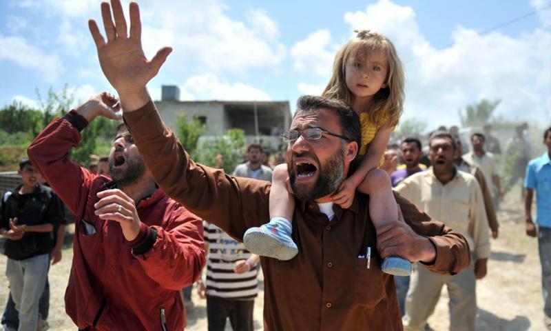 لاجئون سوريون (تعبيرية من الإنترنت)