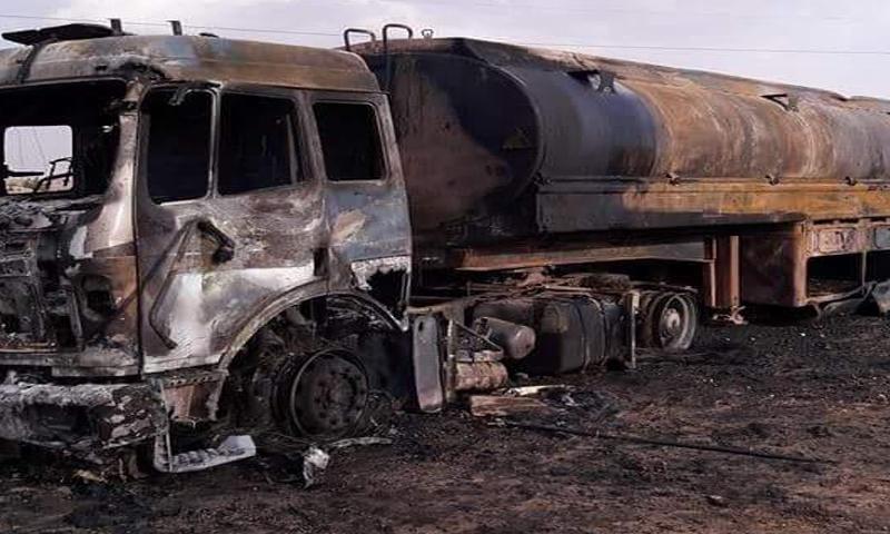 أضرار مادية إثر الغارات على مدينة الطبقة في محافظة الرقة- الأحد 19 حزيران (الرقة تذبح بصمت)