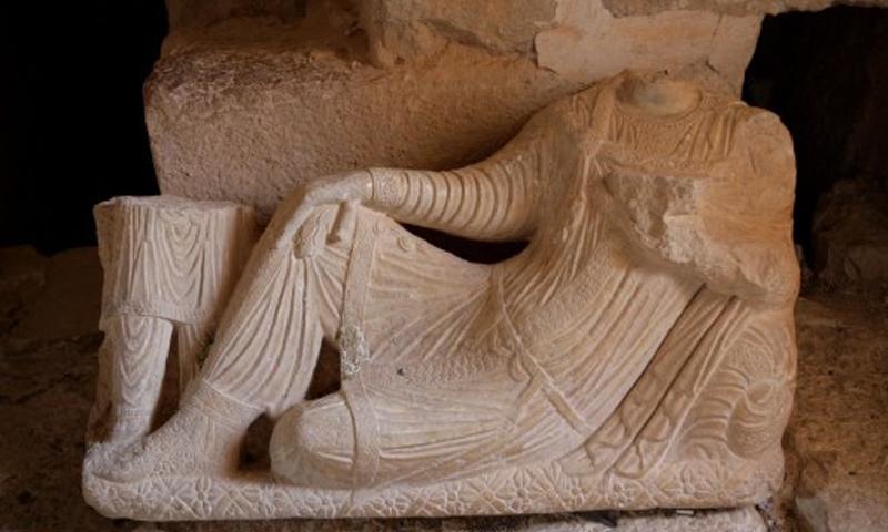آثار مدينة تدمر - 16 أيار 2016 (AFP)