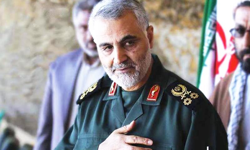 """أن قائد """"فيلق القدس"""" التابع لـ""""الحرس الثوري الإيراني""""، قاسم سليماني (إنترنت)"""