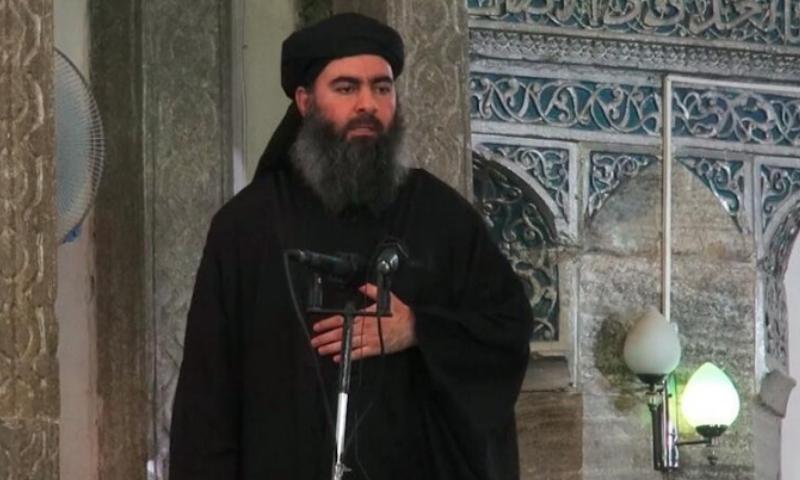 """زعيم تنظيم """"الدولة الإسلامية"""" أبو بكر البغدادي (إعلام التنظيم)"""