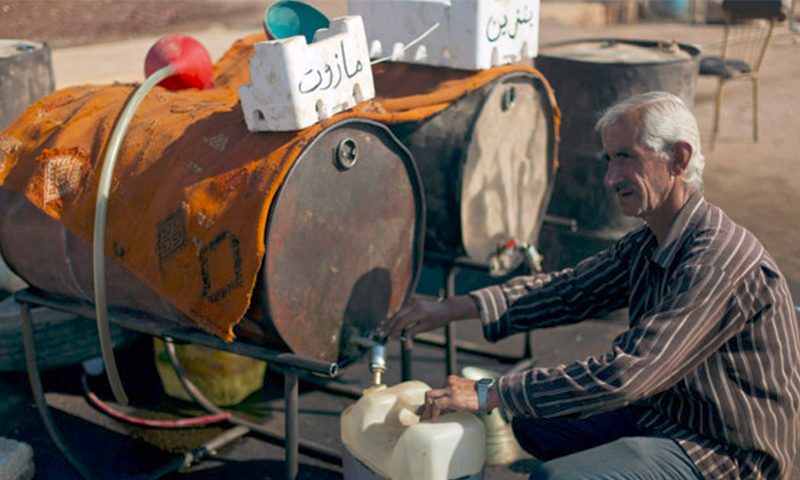 بائع مازوت في سوريا (تعبيرية من الإنترنت)