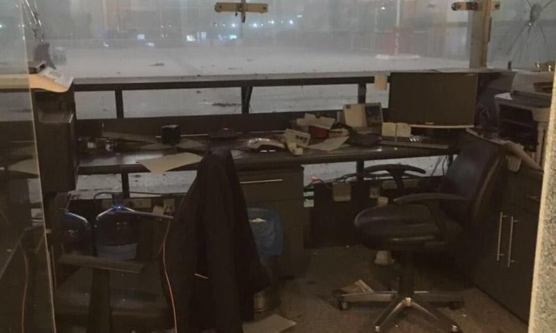 آثار الانفجار في مطار أتاتورك في اسطنبول - 28 حزيران 2016 (إنترنت)