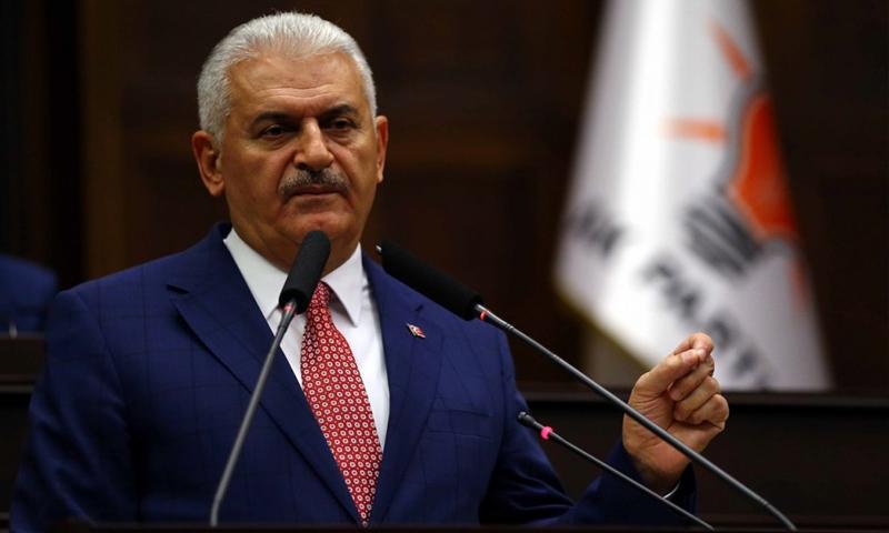 رئيس الوزراء التركي، بن علي يلدرم