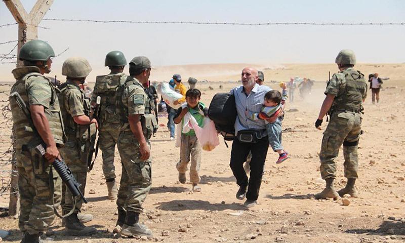 أرشيفية- جنود أتراك على الحدود مع سوريا (إنترنت)