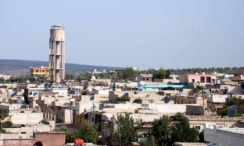 أرشيفية- مدينة عفرين في ريف حلب الشمالي (إنترنت)