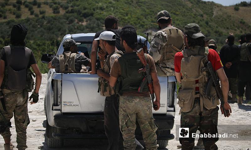 مقاتلو المعارضة في ريف اللاذقية - الاثنين 27 حزيران (عنب بلدي)