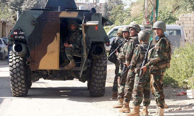 تعبيرية: الجيش اللبناني (إنترنت)