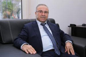 """عبد الحكيم بشار، نائب رئيس """"الائتلاف الوطني السوري"""" وعضو """"المجلس الوطني الكردي""""."""