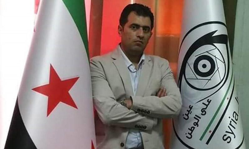 الصحفي السوري أحمد عبد القادر (إنترنت)