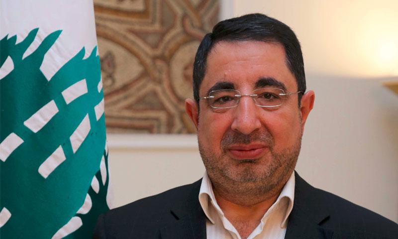 وزير الصناعة اللبناني، حسين الحاج حسن(انترنت)
