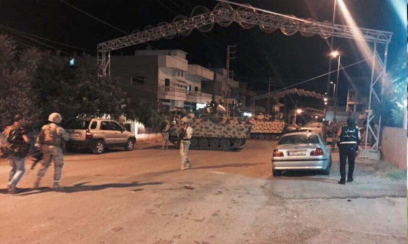 من تفجيرات القاع اللبنانية 27 حزيران (تويتر)
