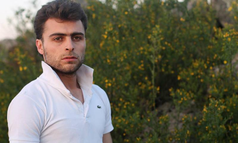 الناشط والمصور خالد العيسى (فيس بوك)
