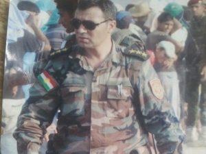 """النقيب دلوفان روباري، قائد """"بيشمركة روج آفا"""""""