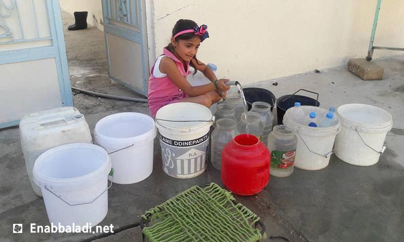 أزمة مياه في مدينة القامشلي- الأحد 26 حزيران (عنب بلدي)