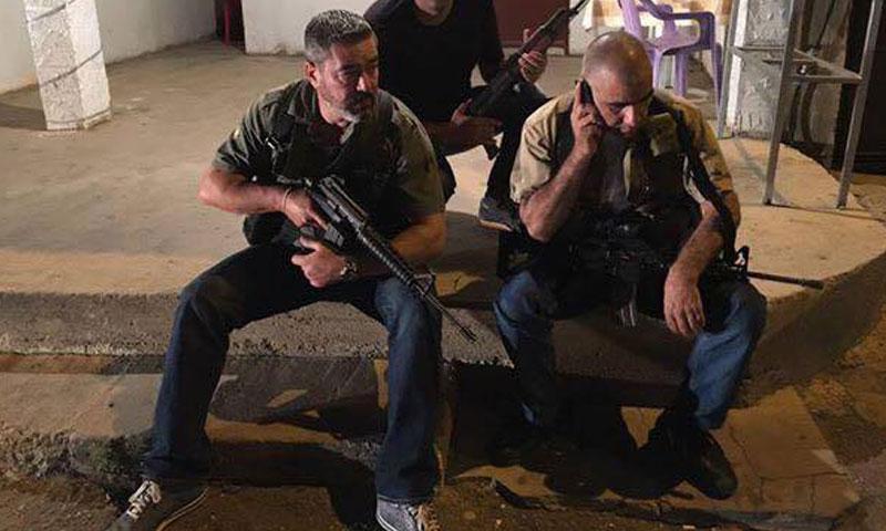 مسلحون مسيحيون في بلدة القاع اللبنانية- الاثنين 28 حزيران (إنترنت)