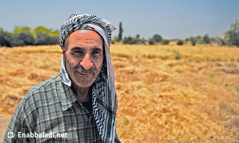 مزارع في أحد حقول الغوطة الشرقية لدمشق (عنب بلدي)