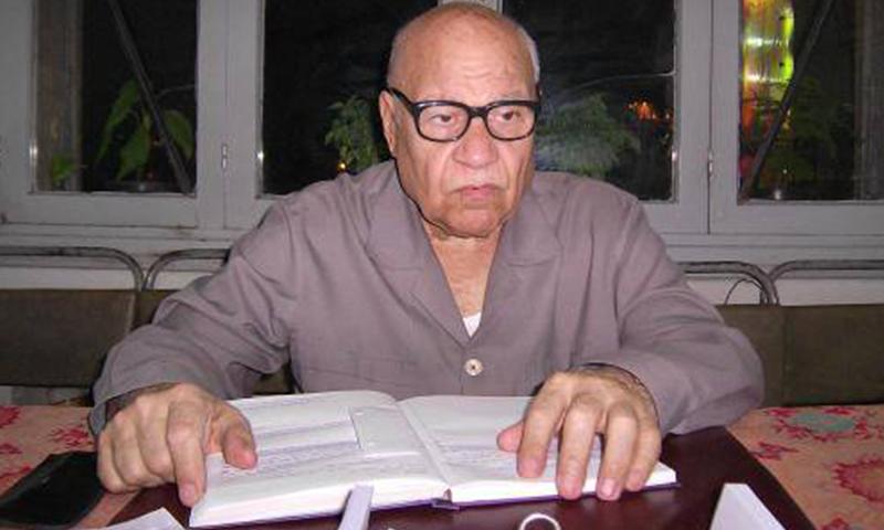 العالم والمحقق اللغوي محمود فاخوري 1933-2016 (إنترنت)