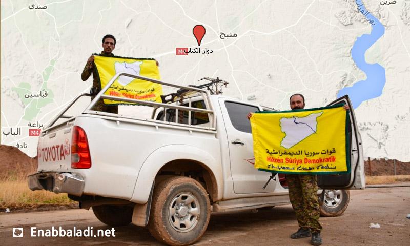 مقاتلون في قوات سوريا الديمقراطية (إنترنت)