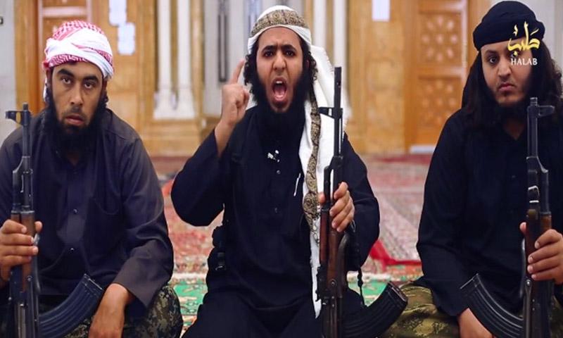 مقاتلون سعوديون في صفوف تنظيم الدولة (انترنت)