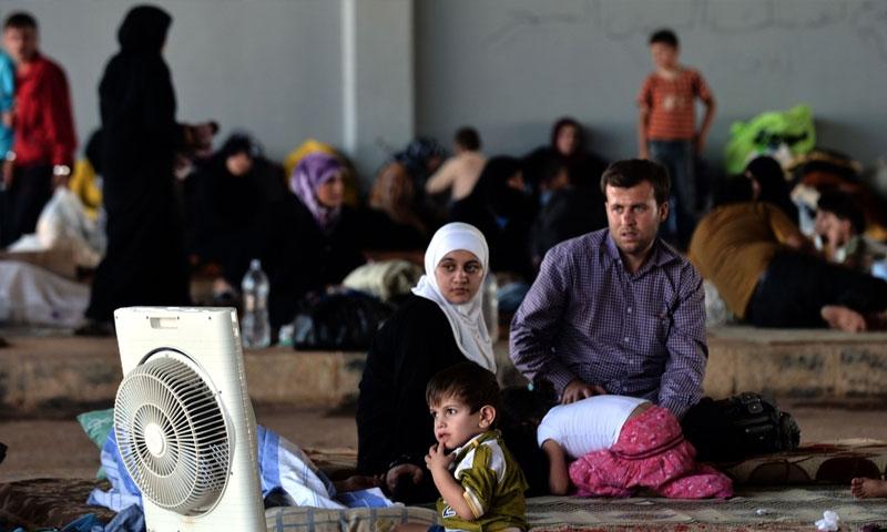 """اللاجئون السوريون في تركيا """"انترنت"""""""
