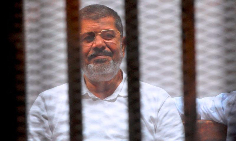 الرئيس المصري المعزول محمد مرسي (انترنت)