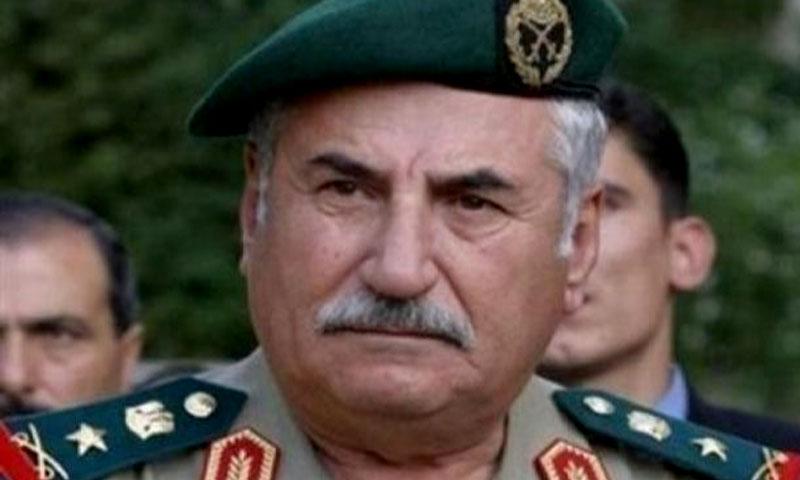 العماد علي حبيب- وزير الدفاع السابق في حكومة النظام السوري