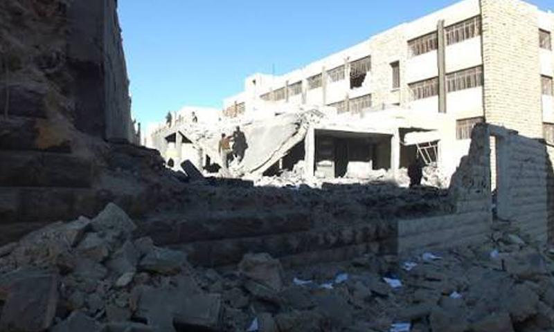 حي بني زيد في مدينة حلب (أرشيف)