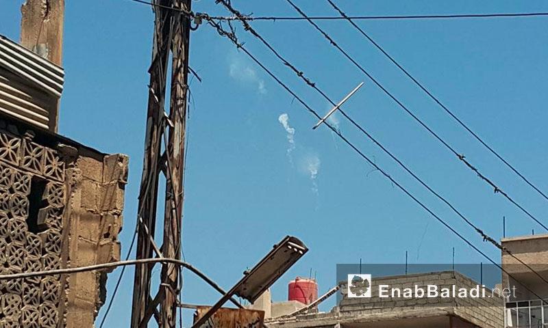 غارات على أطراف مدينة دوما - الأربعاء 13 تموز (عنب بلدي)